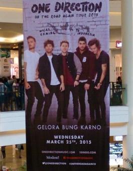 Gara-gara Konser One Direction 2015