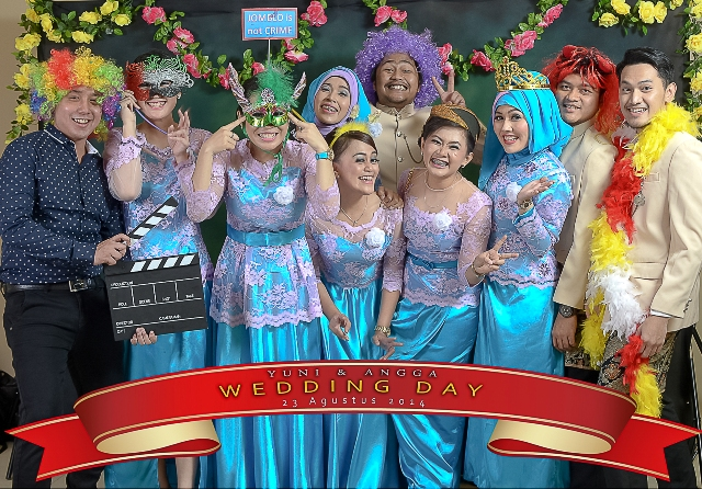PhotoBooth Wedding Yuni – Angga