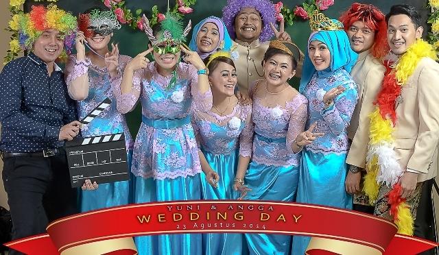 PhotoBooth Wedding Yuni – Angga